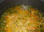 Суп гречневый с яйцом в мультиварке