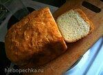 Пшенично-ржаной хлеб с сыром (хлебопечка)