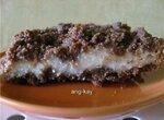 Рассыпчатый шоколадный пирог с творогом (мультиварка Aurora)