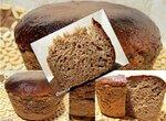 Хлеб пшенично-ржаной с сухим квасом на закваске