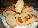 Бездрожжевой творожный хлеб