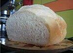 Белый хлеб на основе рецепта Французской булки (хлебопечка)