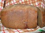 Хлеб ржаной на закваске в хлебопечке