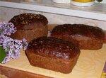 Бородинский хлебушек в духовке