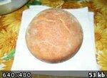 Хлеб пшеничный на квасе в духовке