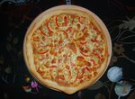 Пицца Тонкая Овощная