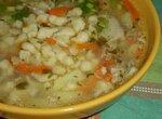 Суп картофельный с клёцками