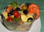 Салат «Бантики» с креветками