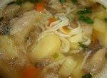 Куриный суп с домашней лапшой для CUCKOO