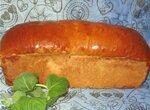 Белый хлеб с мятой (духовка)