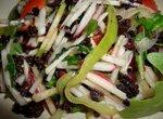 Салат овощной МИКС с черным рисом