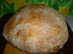Итальянский хлеб (Ann Thibeault) в духовке