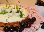 Пирог вишнёво-черешневый  Алиса