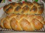 Пшенично-картофельная плетенка (хала) (духовка)