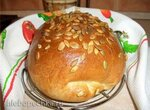 Простой подовый хлеб на картофеле (духовка)