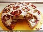 Венский миндальный пирог со сливами