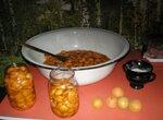 Десерт, начинка из консервированых абрикосов (слив) в собственном соку