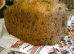 Хлеб из муки грубого помола с орехами (хлебопечка)