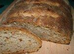 Ароматный хлеб с семенами подсолнечника (духовка)