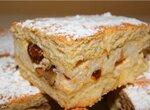 Пирог румынский с творогом