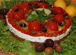 Закусочный  чизкейк Деревенский салат