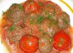 Тефтели с томатами в мультиварке Panasonic SR-TMH 18