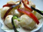 Хуанкаина папас - картофель по-перуански в скоромульте