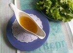 Заправка для зеленого салата «Цитрусовая»