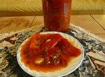 Лечо в томатном соке