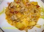 Овощное рагу в Moulinex Minute Cook CE400032