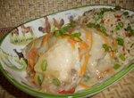 Окорочка куриные под сливочной подливой с сушеной овощной смесью(Cuckoo 1054)