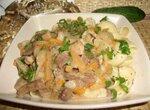 Свинина в соусе из сушено-вяленых овощей (Cuckoo 1054)