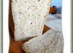 Хлеб цельнозерновой с семолой и льняным семенем