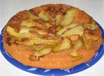 Пирог-перевертыш пряный с грушами