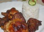 Адобо из курицы и свинины