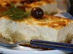 Открытый сырный пирог (Тиропита) и рецепт теста Фило