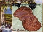 Pane al Mosto - Хлеб на виноградном сусле