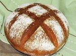 Хлеб пшеничный Простой как основа на Вендемийской закваске