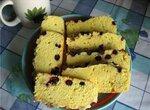 Бисквит с ягодами и орехами в мультиварке Panasonic