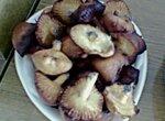 Опята (печенье типа хворост)