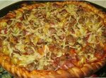 Пицца с мясными шариками
