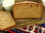 Хлеб пшеничный 100% зерновой  на кефире «Сдобный».