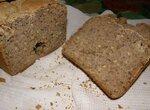 Хлеб ржано-пшеничный с чечевицей и кориандром.
