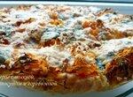 Пирог с тыквой, кунжутом и горгонзолой (Gorgonzola Piccante)