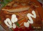 Чебуреки с мясом и сыром