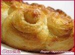 Пирог «Хризантема» (постный)