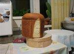 Очень простая сдобная булка (хлебопечка)