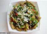 Грибы с овощами и макаронами (в Brand 37501)
