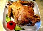 Курица копченая, фаршированная чесноком (Brand 6060)