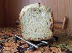 Хлеб пшеничный с изюмом (хлебопечка)